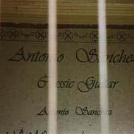 گیتار فلامینکو آنتونیو سانچز